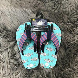 Hatley | Kids Flip Flops | Shoes | Sharks | Size 7